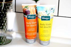 Gute Laune und Lebensfreude dank den Kosmetikprodukten? Duschgels von Kneipp